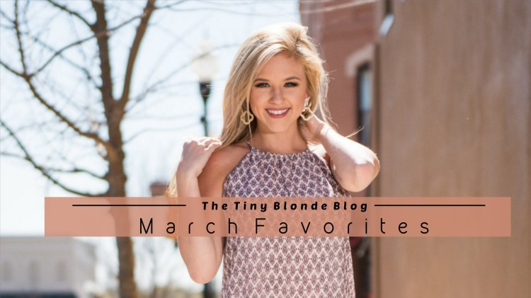 March favorites Banner